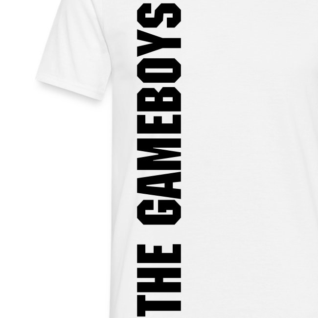 The GameB0ys basic male shirt