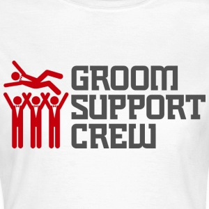 Groom Support Crew 2 (dd)++ T-Shirts - Women's T-Shirt