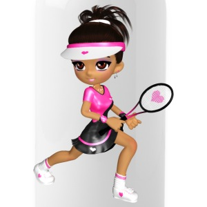 Tennis Girl - Trinkflasche