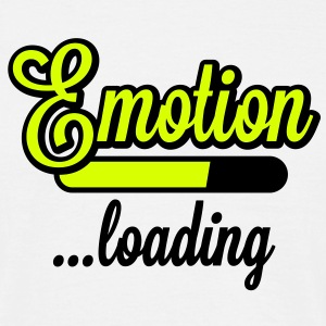 Emotion loading | Emotion wird geladen T-Shirts - Mannen T-shirt