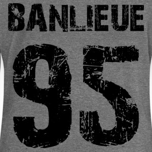 banlieue 95 Hoodies & Sweatshirts - Women's Boat Neck Long Sleeve Top