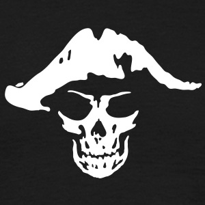 pirate skull  T-shirts - T-shirt herr