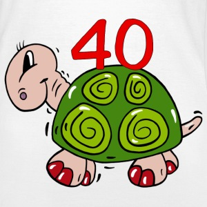 Turtle fortieth birthday - 40 T-Shirts - Women's T-Shirt