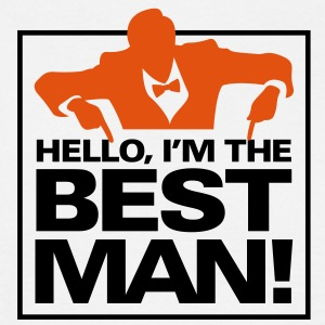 Hello Im The Bestman 1 (2c)++ T-Shirts - Men's T-Shirt