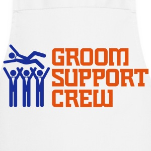 Groom Support Crew 2 (2c)++  Aprons - Cooking Apron