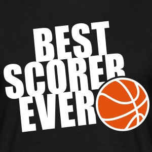 BEST BASKETBALL SCORER EVER 2C T-Shirt WB - Mannen T-shirt