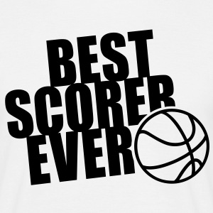 BEST BASKETBALL SCORER EVER T-Shirt BW - Men's T-Shirt