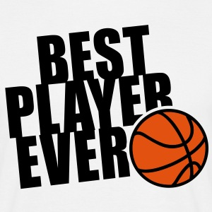 BEST BASKETBALL PLAYER EVER 2C T-Shirt BW - T-skjorte for menn