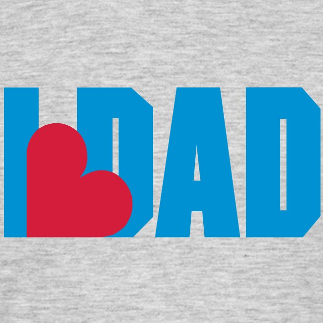 I Heart Dad - Dad - Fathers day Shirt