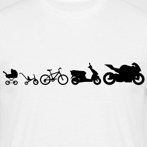 Motorrad Evolution - Men's T-Shirt
