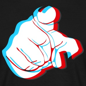 I want YOU - 3D Finger T-Shirts - Männer T-Shirt
