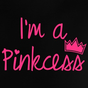 I'm a PINKcess, Princess, Prinzessin, Sprüche, Humor, Queen, King, Royal, NEON, www.eushirt.com Baby T-Shirts - Baby T-Shirt