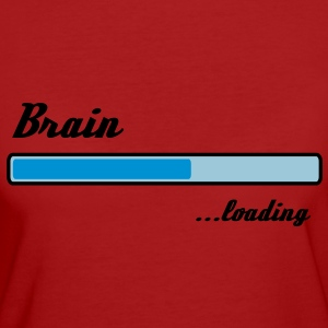 brain loading T-Shirts - Frauen Bio-T-Shirt