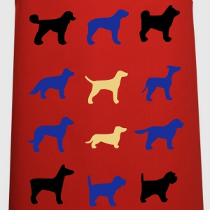 12 dogs  Aprons - Cooking Apron