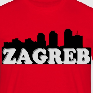 Zagreb 3d - Men's T-Shirt