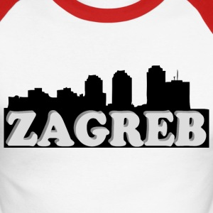 Zagreb 3d - T-shirt baseball manches longues Homme