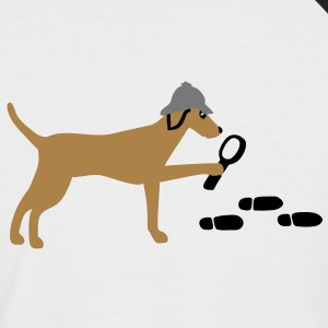 Search-and-rescue dog Tee shirts - T-shirt baseball manches courtes Homme