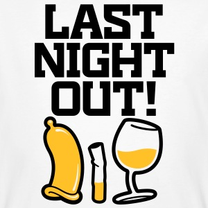Last Night Out 2 (2c)++ T-shirts - Organic mænd
