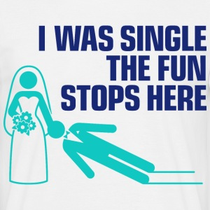 I Was Single 1 (dd)++ T-shirt - Maglietta da uomo