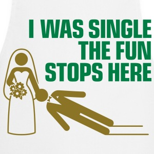 I Was Single 1 (2c)++  Aprons - Cooking Apron