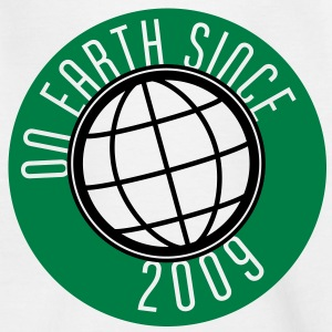 Birthday Design - On Earth since 2009 (uk) Kids' Shirts - Kids' T-Shirt