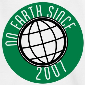 Birthday Design - On Earth since 2007 (uk) Kids' Shirts - Kids' T-Shirt