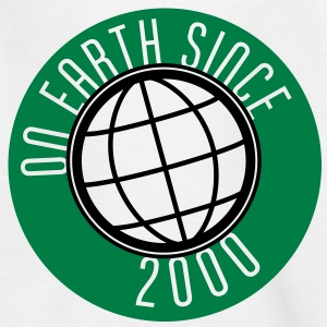 Birthday Design - On Earth since 2000 (uk) Kids' Shirts - Kids' T-Shirt