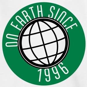 Birthday Design - On Earth since 1996 (no) Barneskjorter - T-skjorte for barn