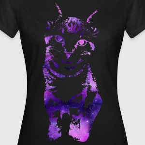 Galaxy Cat - Frauen T-Shirt