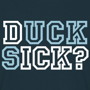 Duck sick | Suck dick | blasen | question | Frage T-Shirts - T-skjorte for menn