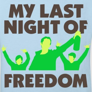 My Last Night Of Freedom 1 (dd)++ Kinder shirts - Kinderen Bio-T-shirt