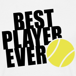 BEST TENNIS PLAYER EVER 2C T-Shirt BW - Mannen T-shirt