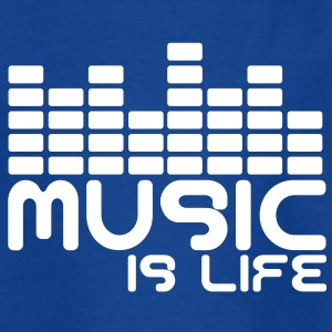Music is life with equaliser  Kids' Shirts - Teenage T-shirt