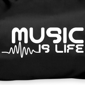 Music is life with pulse Borse - Borsa sportiva