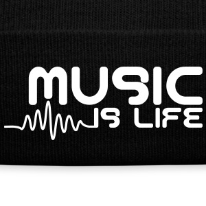 Music is life with pulse Caps & Hats - Winter Hat