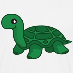 White turtle T-Shirts - Men's T-Shirt