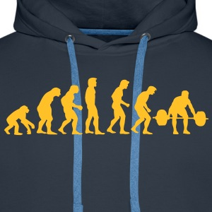 athletics evolution Sweatshirts - Herre Premium hættetrøje