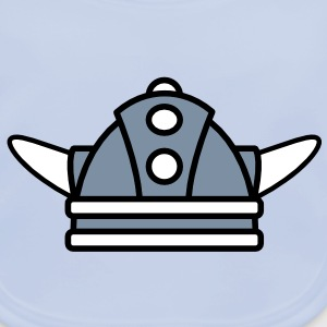 Kind Wikinger Helm | Child Viking helmet Accessoires - Baby Organic Bib