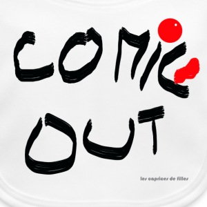 comic out Accessories - Baby Organic Bib