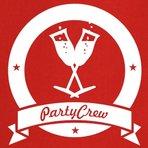 party crew (1c)  Aprons - Cooking Apron
