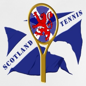 Scotland flag tennis racket Baby Shirts  - Baby T-Shirt