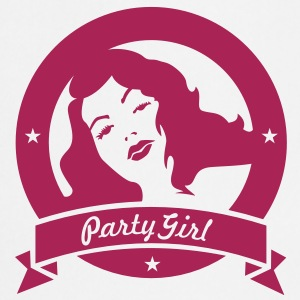 party girl (1c)  Aprons - Cooking Apron