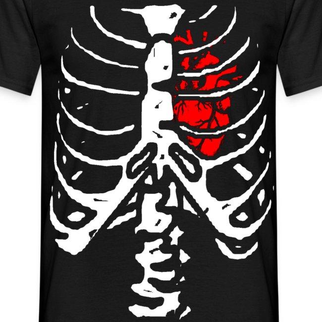 T shirt homme squelette