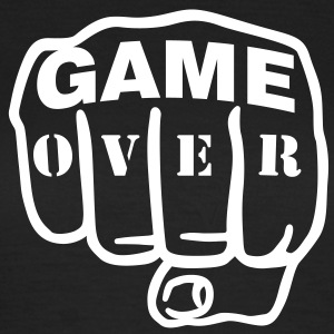 Game over | Fist | Faust T-Shirts - Dame-T-shirt