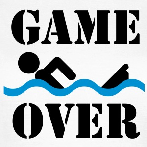 Game over | Schwimmer | Swimmer T-Shirts - Women's T-Shirt