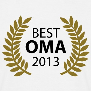 Best Oma 2013 T-Shirts - Mannen T-shirt