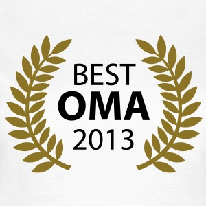 Best Oma 2013 T-Shirts - Frauen T-Shirt