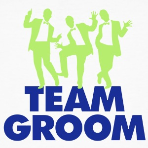 Team Groom 1 (2c)++ T-shirts - Organic mænd