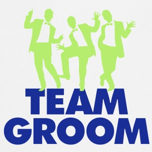 Team Groom 1 (2c)++  Aprons - Cooking Apron