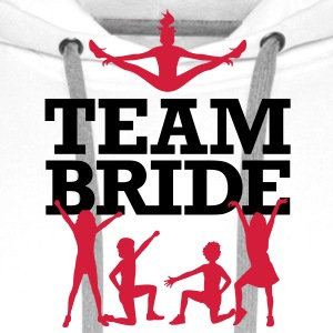 Team Bride 2 (2c)++ Hoodies & Sweatshirts - Men's Premium Hoodie
